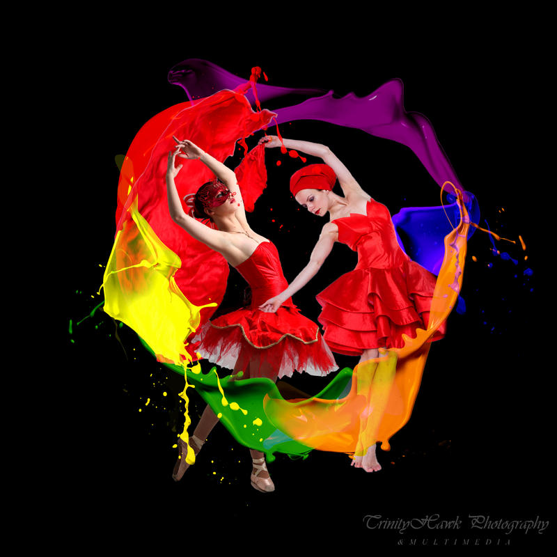 Dance Of The Rainbow by Thawkphoto