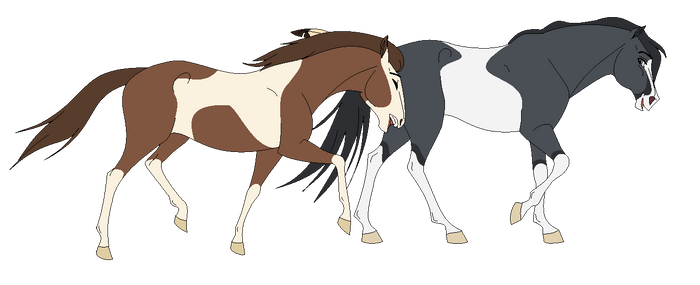 REQUEST: Mare and Stallion - Base