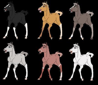 Foal Batch 3 - 1/6 Open