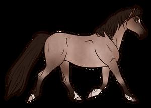 Horse Adopt 318 - Sold