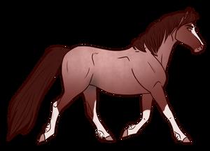 Horse Adopt 319 - Sold