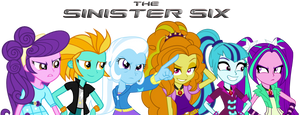 say hello to the ANTI-MANE SIX (EQG style) by Titanium-dats-me