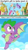 Starlight's gift to Spike 2 (cutie mark version)
