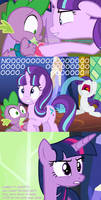 Starlight asks Spike out on Hearts N Hooves Day!