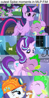 cutest Spike moments in MLP:FiM