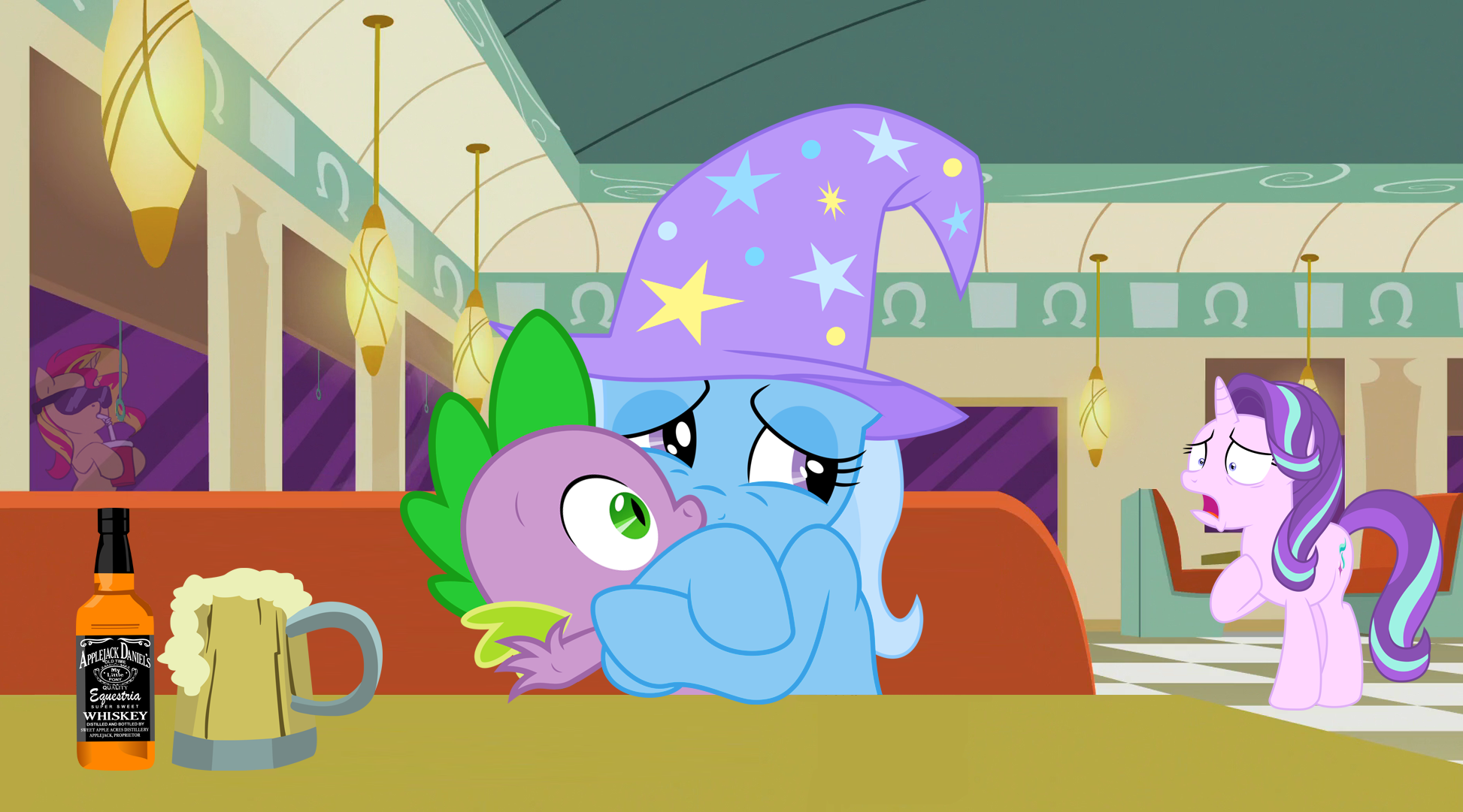 looks like u and Trixie have a lot in common, Star