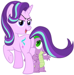 hey Spike, what's your favorite pony tail?