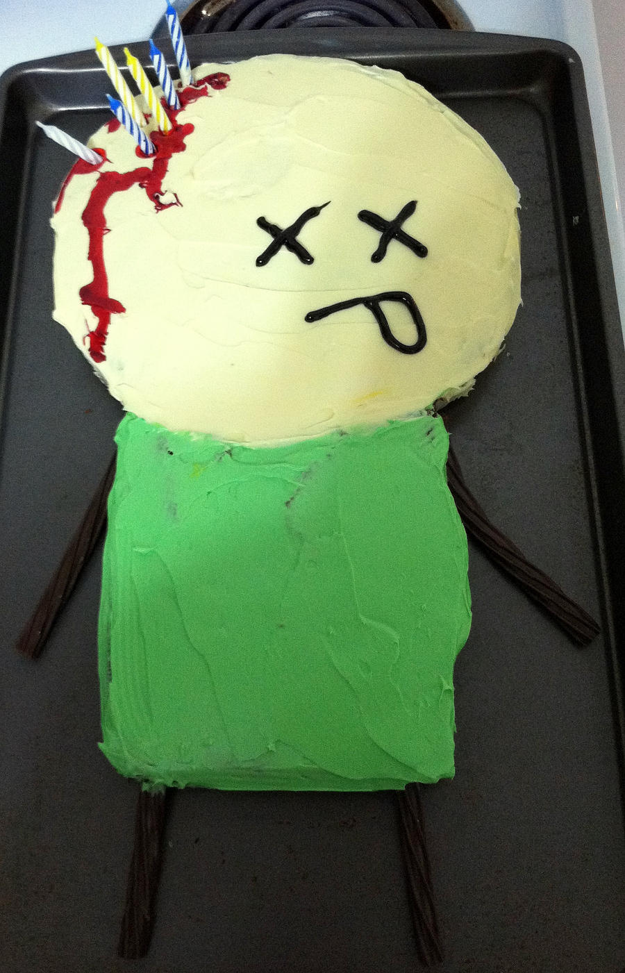 Cyanide And Happiness My Cake