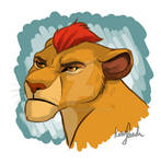 Grumpy Kion