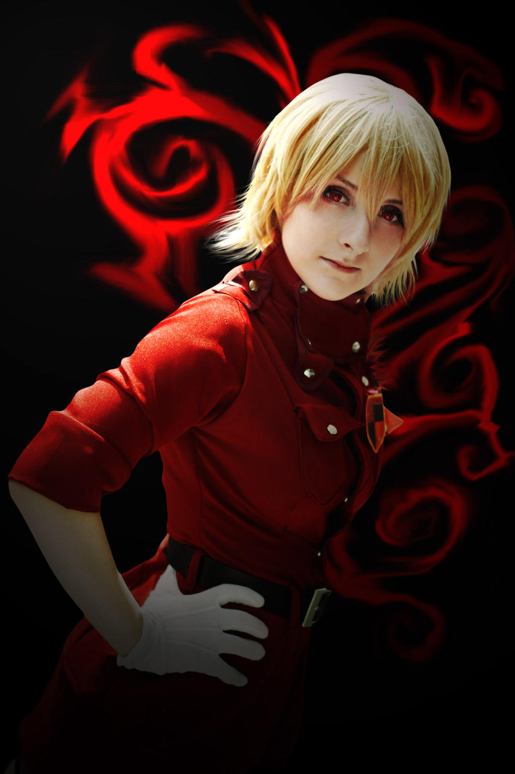 Seras Victoria Blood Rage by xXPhoenixfeatherXx on DeviantArt
