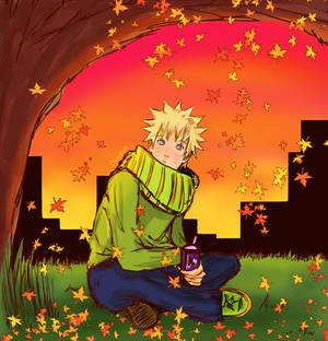 Naruto - Autumn leaves