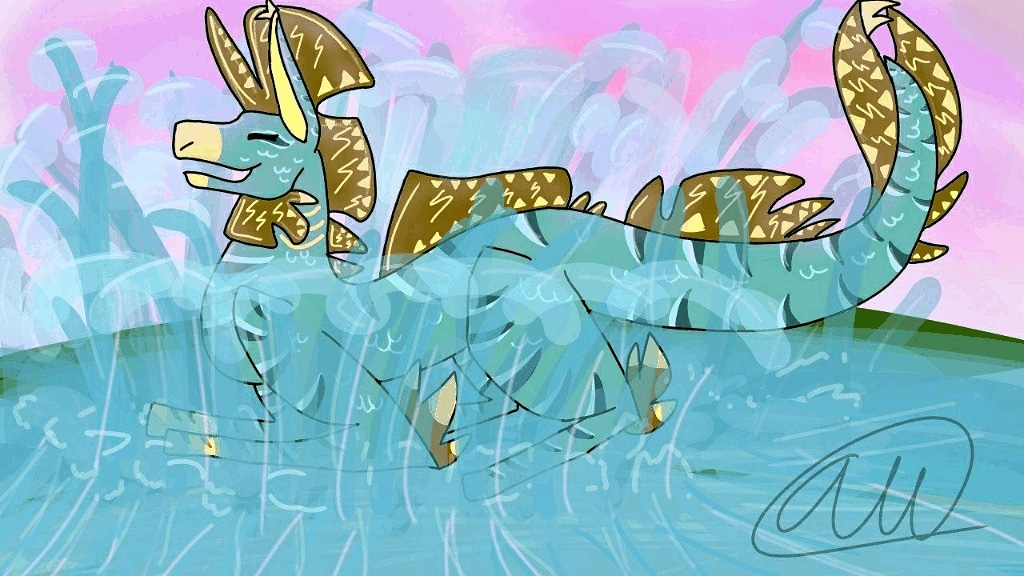 Streamwing Art by HailstoneDraws