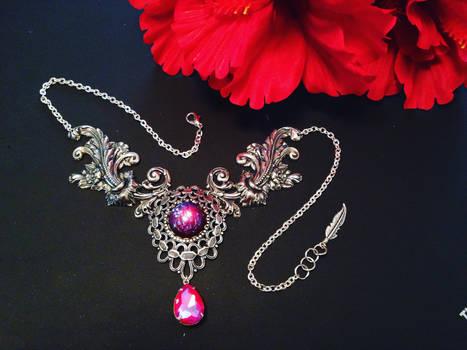 Regent - Dragon's Breath Opal Crystal Necklace