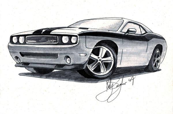 Dodge Challenger 1969 Black >> 2010 Dodge Challenger - render by dieselart on DeviantArt