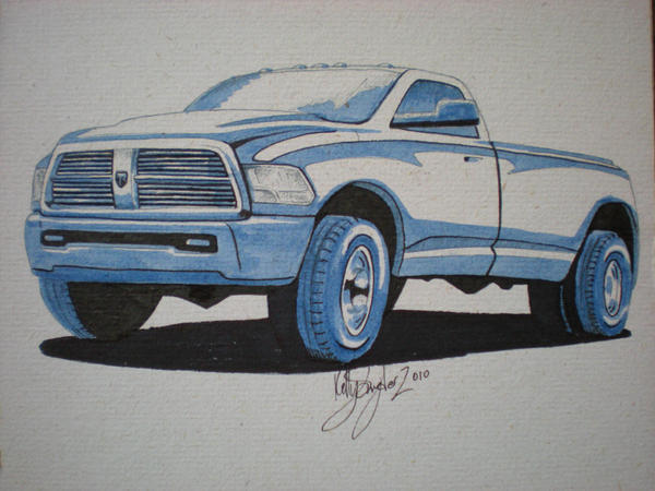2010 Dodge Ram 3500 by dieselart on DeviantArt