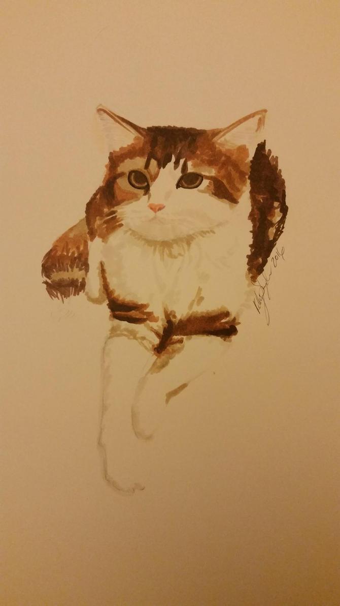 Kitten by dieselart
