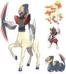 Centaur And Sagitarius Fusion