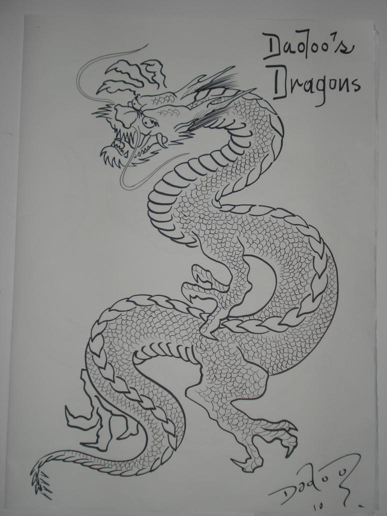 mais dragons japanese tattoo