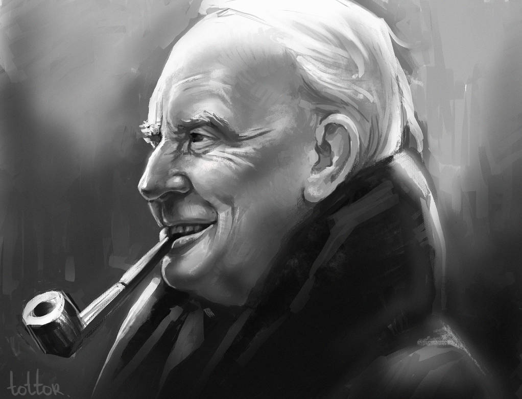 J.R.R. Tolkien by Tottor