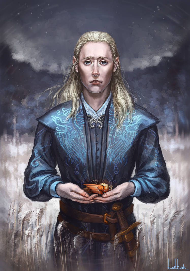 Finrod  The first winter of exile by Tottor
