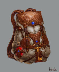 Travel backpack by Tottor