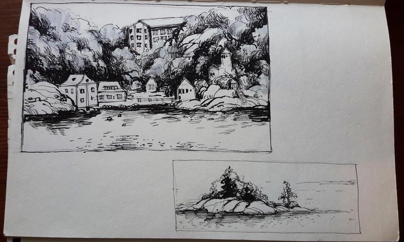 Sweden sketch by Tottor