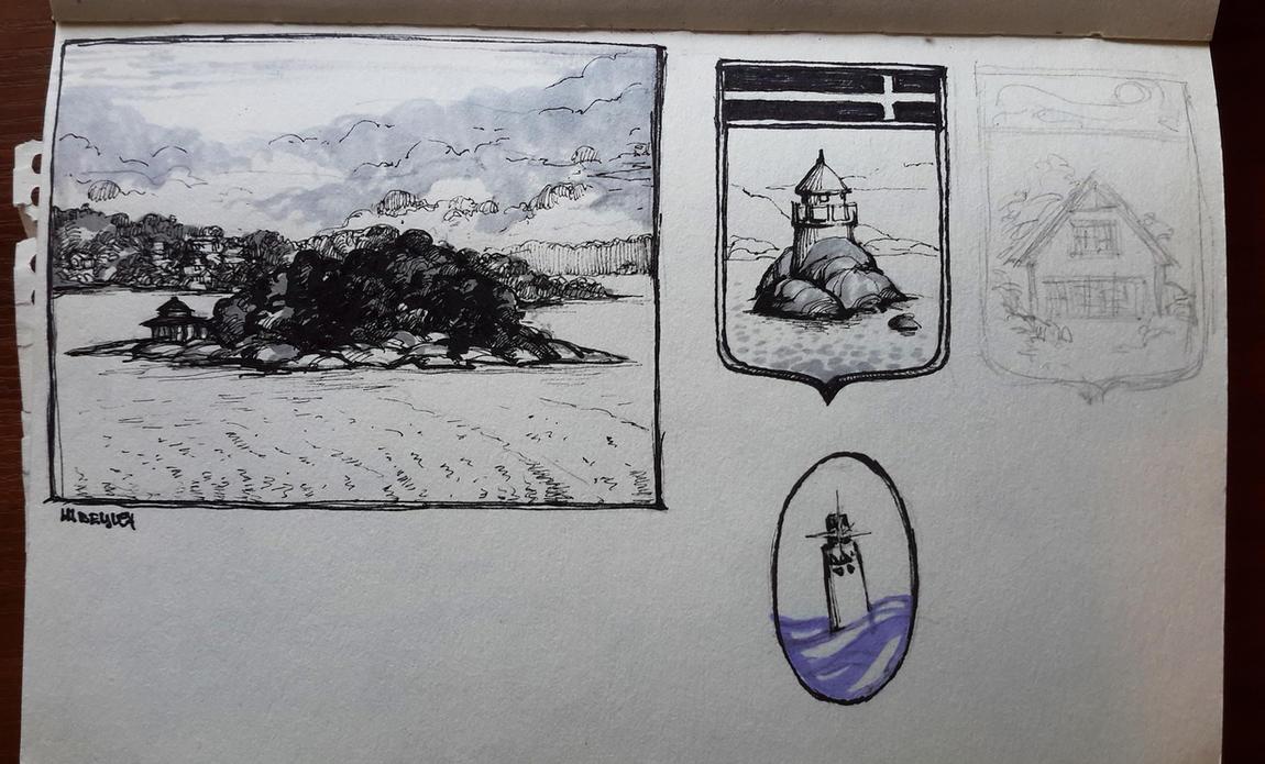 Sweden sketch 2 by Tottor