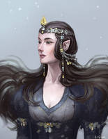 Luthien Tinuviel by Tottor