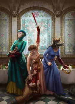 Cursed Sisters. EVILBOOK2