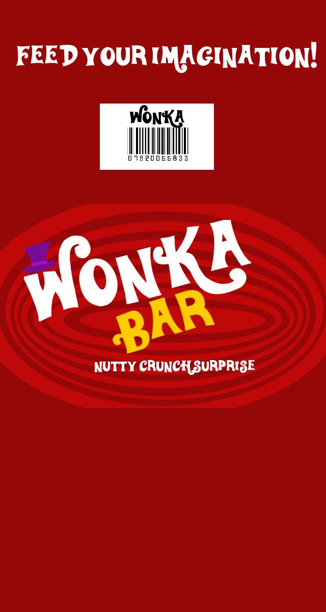 Wonka Nutty Crunch Surpriese bar Wrappber by TheCrimsonLoomis