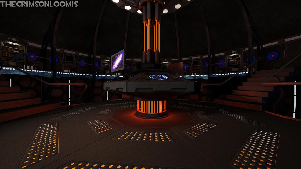 2012-present TARDIS interior by TheCrimsonLoomis