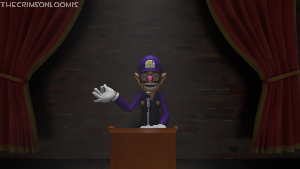 Waluigi's College Speech (New Video) by TheCrimsonLoomis