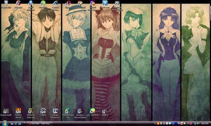 Evangelion desktop by ares69