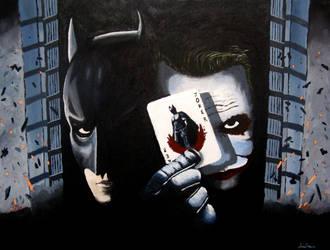 Dark Knight Enemies by ares69
