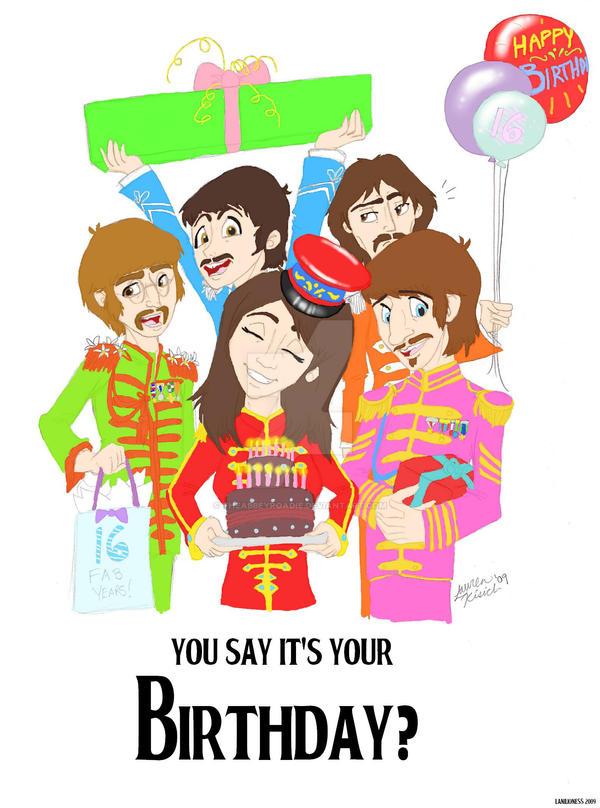 Beatles birthday by theabbeyroadie on deviantart beatles birthday by theabbeyroadie bookmarktalkfo Choice Image