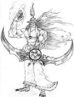 Druid-Demon Hunter War Craft 3 by Linggoddess
