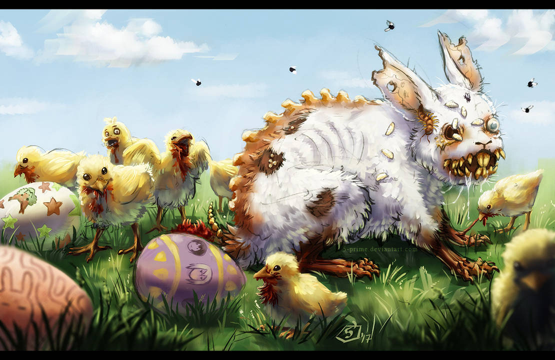 The Easter bunny is here by 5-prime