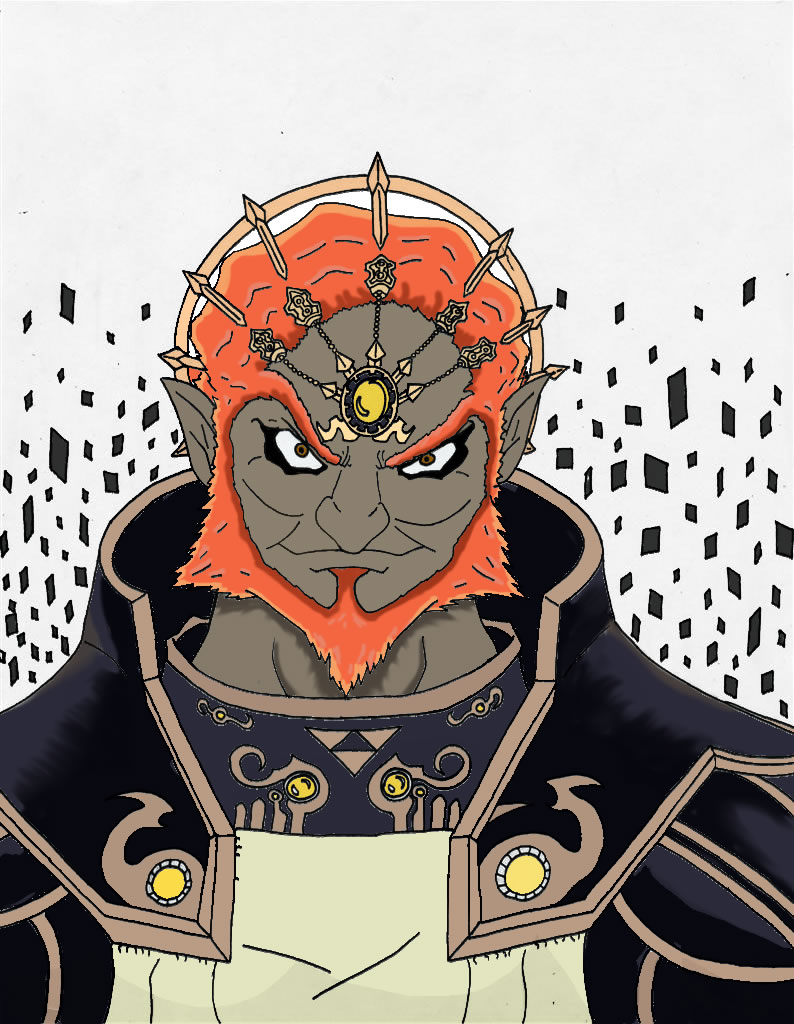 ganondorf coloring pages - photo#36