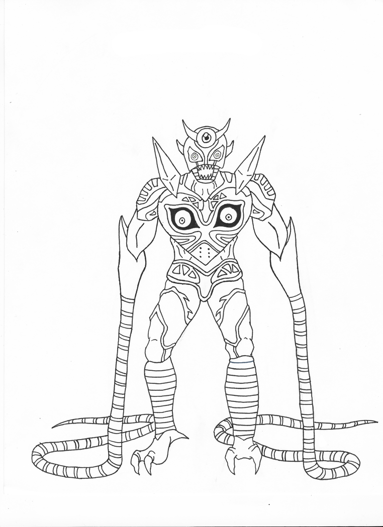 Majoras wrath coloring pages ~ Majora's Wrath Line Art by kuhu on DeviantArt