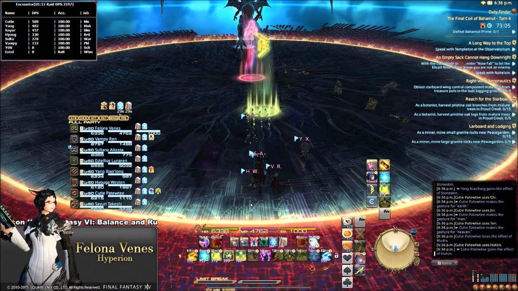 Bahamut confronts only the worthy in DEATH BATTLE! by