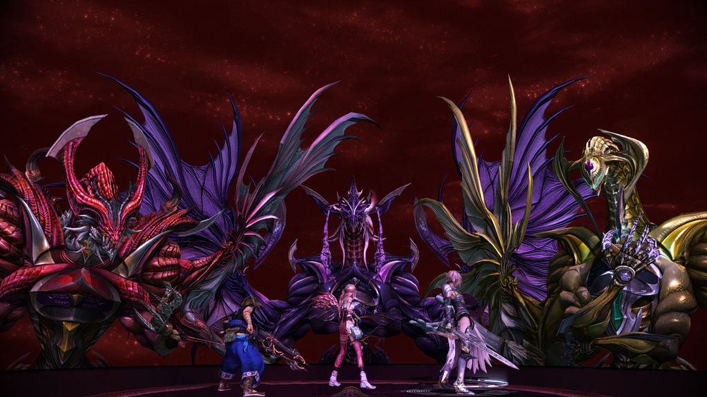 Bahamut confronts only the worthy in DEATH BATTLE! by ApexUtopia on
