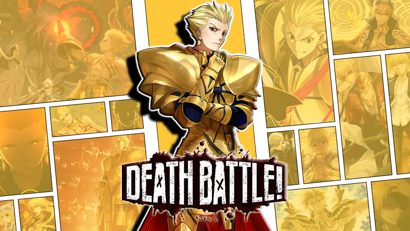 Composite Gilgamesh is the king of DEATH BATTLE! by