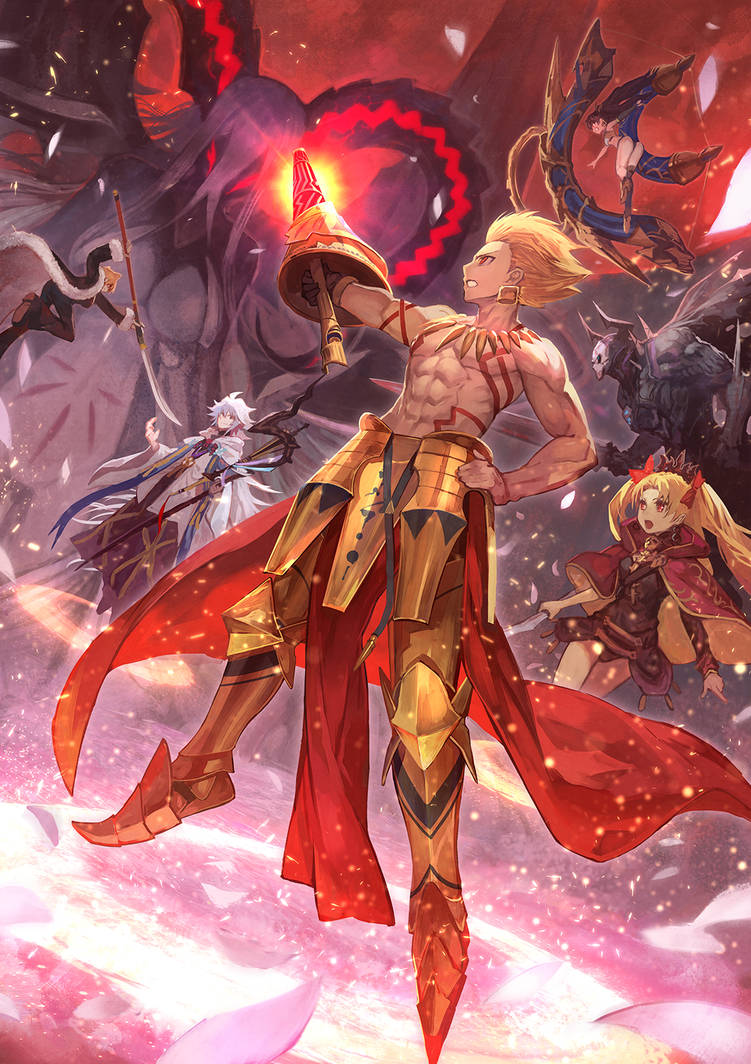 Monarch Of Men And Monsters Gilgamesh By Apexutopia On Deviantart