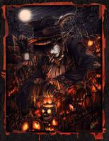 - King of the Pumpkin Patch- by pupukachoo