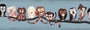 Doctor Hoo - T-SHIRTS A GO by pupukachoo