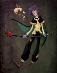 Professor X and Furria by pupukachoo