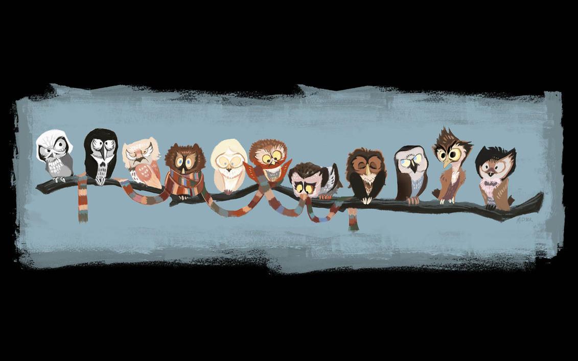Doctor Hoo - wallpaper by pupukachoo