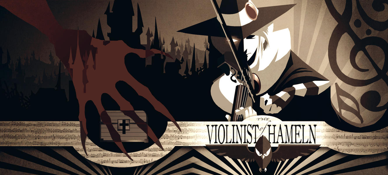 The Violinist of Hameln by pupukachoo