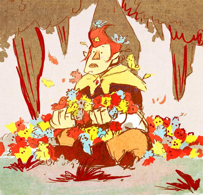 The Legend of Groose by pupukachoo