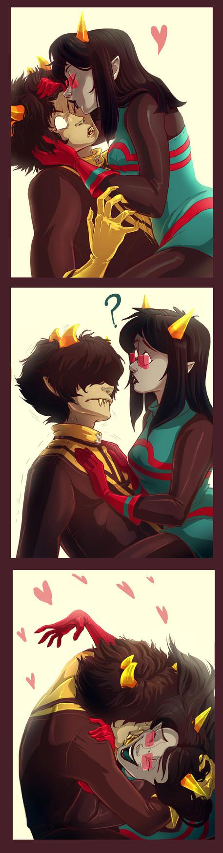 Valentine by pupukachoo